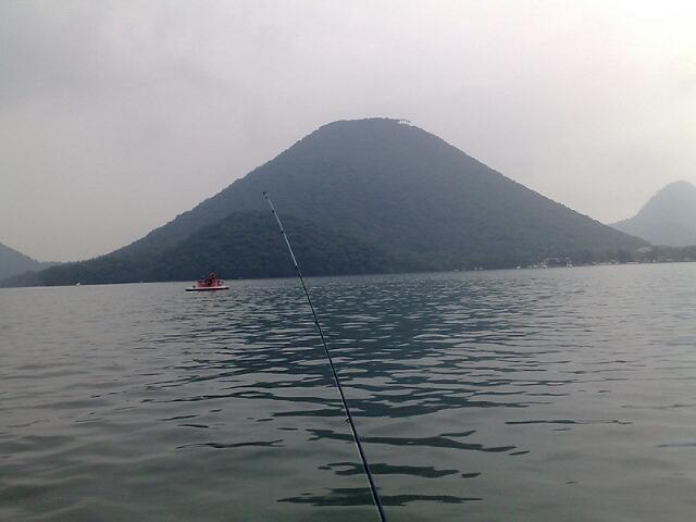 群馬榛名湖ワカサギ釣り